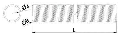 Komp Normstahl Sektionaltorfeder Torsionsfeder Garagentorfeder typ-s 50x6,5x842