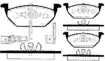 4 Bremsscheiben + Beläge Vorne Hinten Vw Golf 4 Bora Beetle Audi A3 3