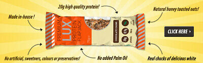 High Protein Bar - 12 Bars - 20g Protein / 3g Low Sugar - 1 WEEK DEAL PRICE ONLY 5