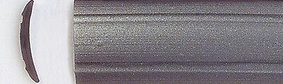 20 Meter Leistenfüller  Gummiprofil  Einlegeband  silber grau 12mm zB für Hobby