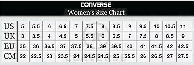 ... Converse Hi Top All Star Chucks White Burgundy Mens Womens Shoes All  Sizes 5 02b7f5b7b