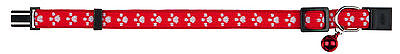 1 x New Paw Fully Adjustable Cat Elastic Collars Bell 4202 2