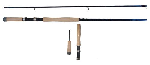GRIZZLY ELITE JIGGIN CRAPPIE FISHING POLE 11/' GER-04  IM-6 GRAPHITE ROD