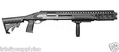 TACTICAL 6 POSITION Stock With Grip Buttstock Pad Kit-Remington 870 parts