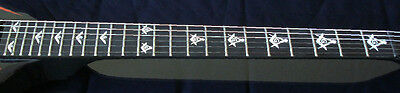 Blink 182 Tom Delonge Custom Strat MOP WHITE PEARL Decal Inlay for BASS & GUITAR 2