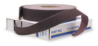 """MERIT 08834191518 Abrasive Roll,1""""W x 150 ft. L,80G,Brown 2"""