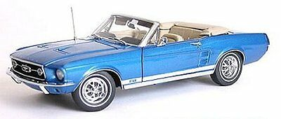 1967 MUSTANG CONVERTIBLE Front & Rear Bench Seat Upholstery - Blue, Made by  TMI
