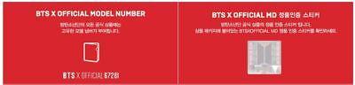 Bts Bangtan Boys World Tour Love Yourself Official Goods Lenticular L-Holder Set 4