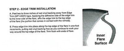 Bushwacker Fender Flare Flair Edge Trim Wiper Style 30 Ft Feet 000044-01 Welting 4