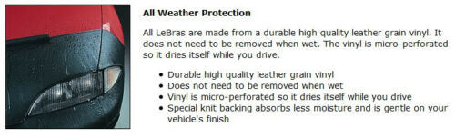 LeBra Hood Protector-45203-01 fits Dodge Grand 2008 2009 2010