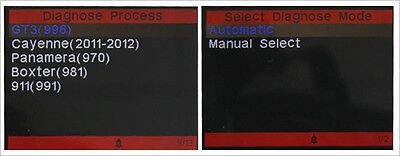 PORSCHE OBD2 DIAGNOSTIC SCANNER TOOL FAULT CODE READER ABS SRS 911 iCarsoft  i960