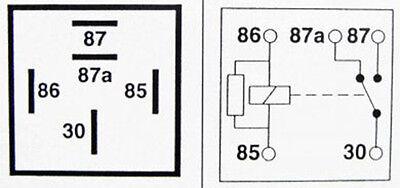 automotive relay 12v 40a hella 12 volt relay wiring