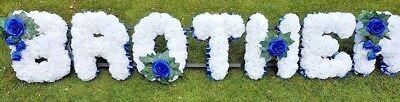 Silk Artificial Funeral Flowers Wreath/Memorial/Grave Tribute Wreaths 9