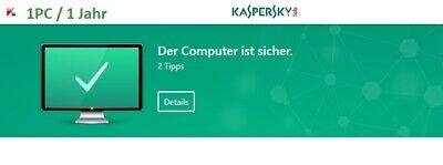 Kaspersky Internet Security  2020 1 PC | 1 Jahr Antivirus Multi Device 2