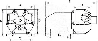 Pompa Autoclave Europump 11 Lt 11/Min 12V Con Pressostato Barca/Camper 2
