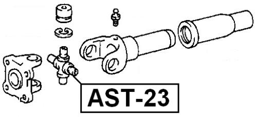 Universal Joint Uni Joints Drive Shaft 29X49 Fits TOYOTA HILUX 1988-1997