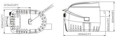 Pompa Di Sentina Automatica Ad Immersione G750 12V | Accessori Barca Gommone