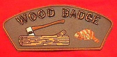 OWL Wood Badge Critter Patch Beads Boy Cub Scouts CSP