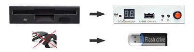!USB Floppy Drive Emulator N-Drive Industrial for Arburg Selogica Control System 12