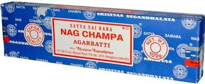Genuine NAG CHAMPA AGARBATTI Incense Sticks Satya Sai Baba Insence Joss Pack UK 3