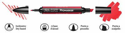 Promarker Pantone Winsor&Newton pennarelli doppia punta Pantoni 148 colori 2