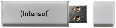 Intenso USB Stick 128GB Speicherstick Ultra Line silber USB 3.0 2