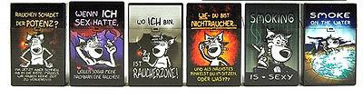 Zigaretten & Zubehör Sammeln & Seltenes Zigarettendose Zigarettenbox Zigaretten Etui mit Sprüche vom kleinen Wolf