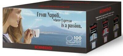 300 Cialde Caffe' Kimbo Espresso ( 44 Mm ) Originali 2