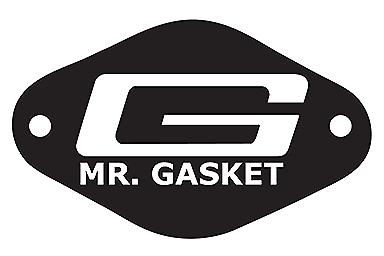 "Mr. Gasket 9649 Super Shifter Boot - Large  9 "" X  8""  Chrome Trim 2"