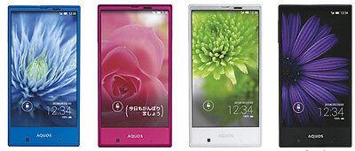 SHARP SHV31 AQUOS Serie Mini Compact Phone Android Smartphone Unlock Japan  Blue