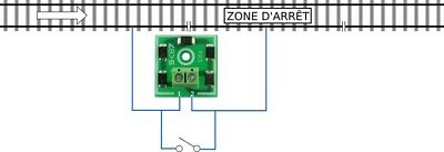 5354# brake module for dcc system//bm1 equivalent 22600 lenz digital oh
