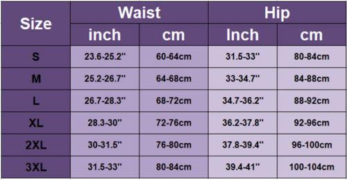 AU Women Slimming Body Shaper Control Tummy High Waist Panty Shapewear Underwear 2