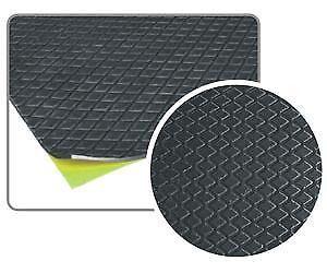 10 plaques auto adhesive de goudron insonorisant 250 x 500 x 2 mm 4