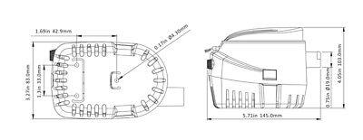 Pompa Di Sentina Automatica Ad Immersione G750 12V | Accessori Barca Gommone 2