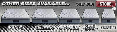 Queen Double King Single Mattress Size - Memory & Latex - Pocket Spring - 31cm 9