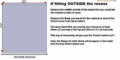 Mtm Made To Measure 100% Thermal Blackout Roller Blinds - Easy To Fit 5