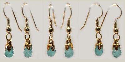 19thC Antique 1ct Apatite Gem of Ancient Athletes + Warriors Muscle Talisman Ear 3