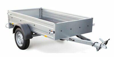 STEMA pkw  Anhänger OPTI 750 Kg 33cm hohe Bordwände 13Zoll 100KM/H Freigabe Neu 2