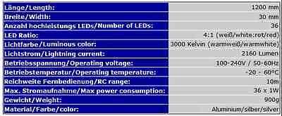 Aquariumleuchte Led Aquariumbeleuchtung Aquariumlampe Aquariumabdeckung Uv Ab6Ww 12