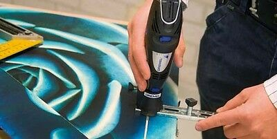 Dremel 678 Line & Circle Cutter Guide Attachment With Bit 26150678JA 3