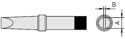 TCP 24 TCP 12 TCPS FE 50M.PTC6 Weller PT-C6 Lötspitze meißelförmig f TCP 42