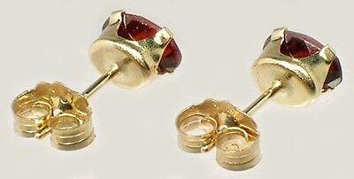 19thC Antique 1ct Garnet Noah's Ark Myth Gem Ancient Hebrew Talmudic Amulet 14kt 5 • CAD $226.79