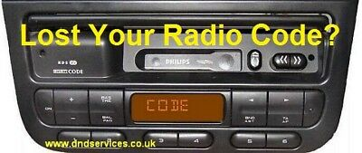 PEUGEOT RADIO Code Decode Unlock Codelocked Service - £20.00 ...