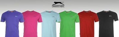 Mens Slazenger Short Sleeves Plain Crew Neck Lightweight T-Shirt Top Sizes S-4XL 11