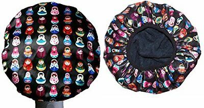 Dilly's Collections Premium Microfiber Lined Shower Cap Hair Care Adults / Kids 5