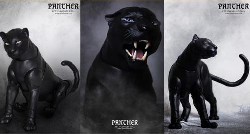 1//3 Bjd Doll iplehouse pet puma panther Free Face Make Up-Mouth closed Free DHL