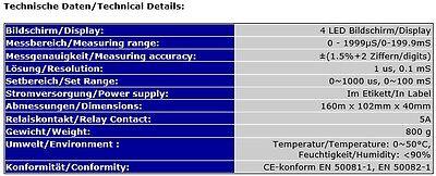 EC-LEITWERT-CONTROLLER KONTROLLER REGLER MEERWASSER & SÜSSWASSER mS EC9*