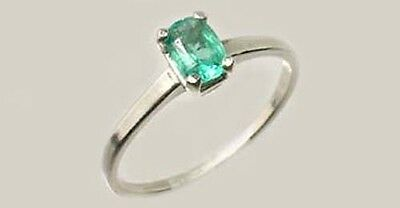 19thC Antique ½ct Colombian Emerald Gem of Ancient Greece Aristotle Plato 4thBC 2