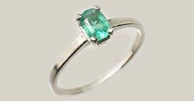 19thC Antique ½ct Colombian Emerald Gem of Ancient Greece Aristotle Plato 4thBC 2