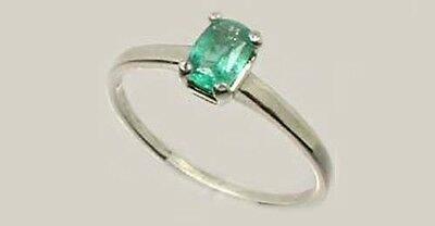 19thC Antique ½ct Colombian Emerald Gem of Ancient Greece Aristotle Plato 4thBC 3